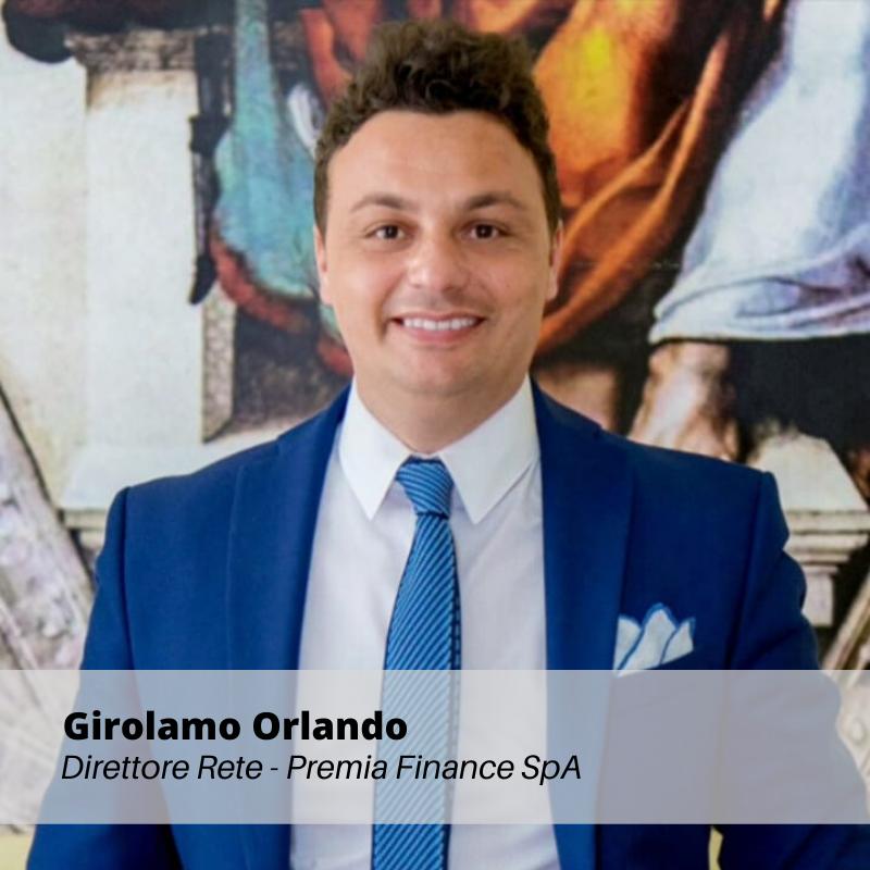 Girolamo Orlando - Direttore Rete Premia Finance