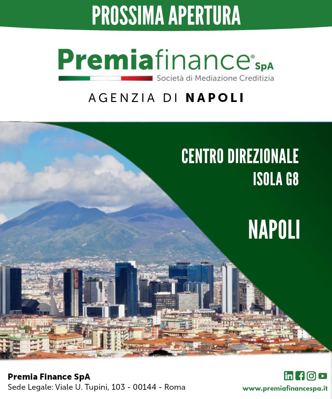 Prossima Apertura Agenzia di Napoli