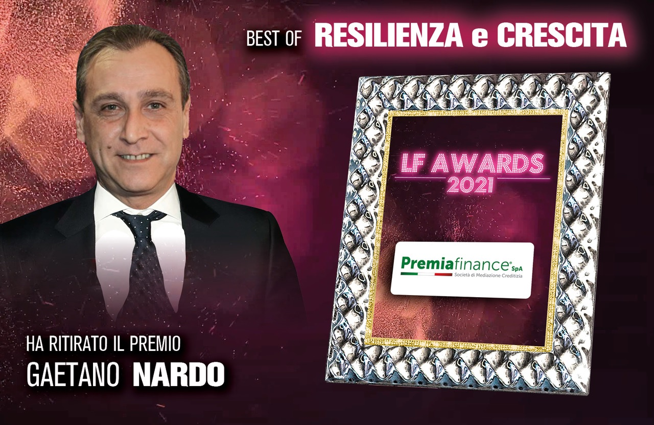 "Leadership Forum Awards 2021, Premia Finance SpA trionfa nella categoria ""Resilienza e Crescita"""