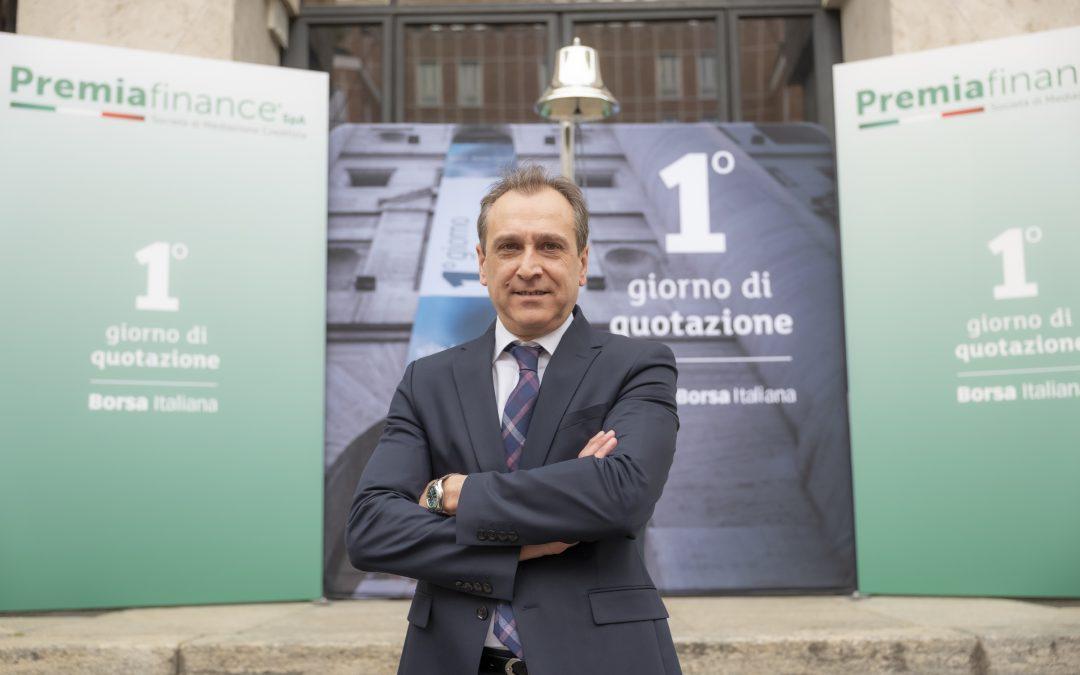 """Premia Finance SpA, prosegue la crescita tre mesi dopo la Quotazione in Borsa. Gaetano Nardo: """"Continuiamo a migliorarci"""""""