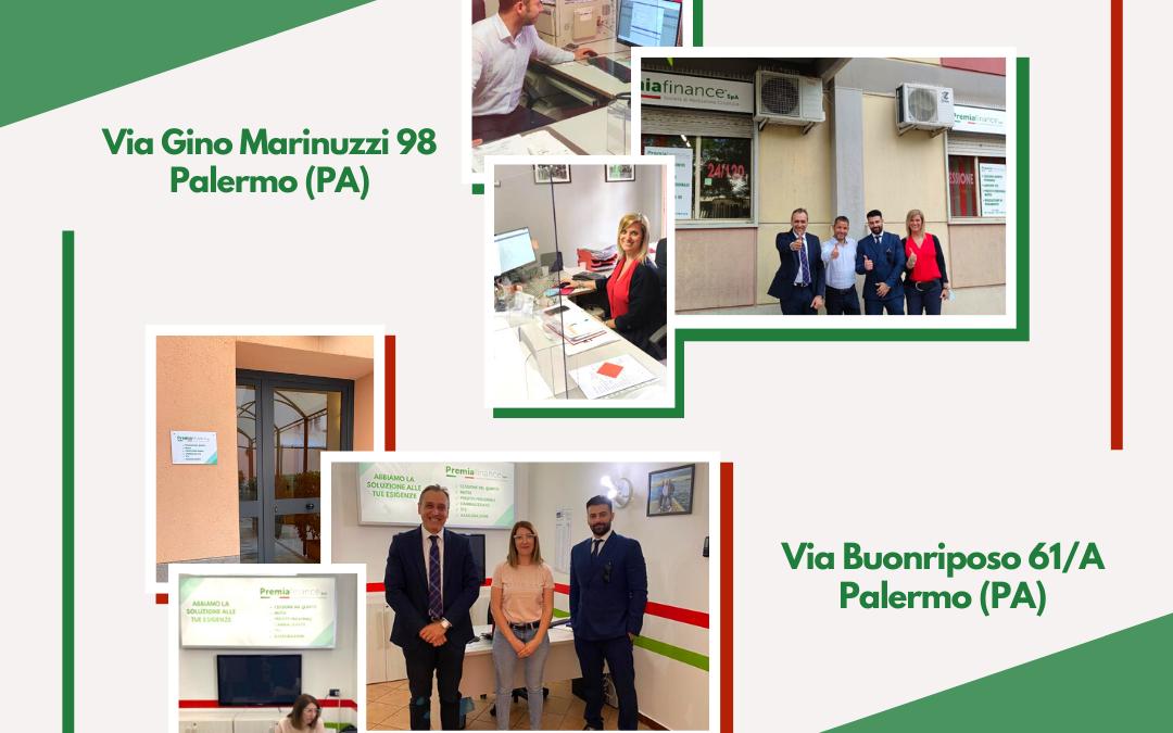 Premia Finance SpA, doppia apertura a Palermo