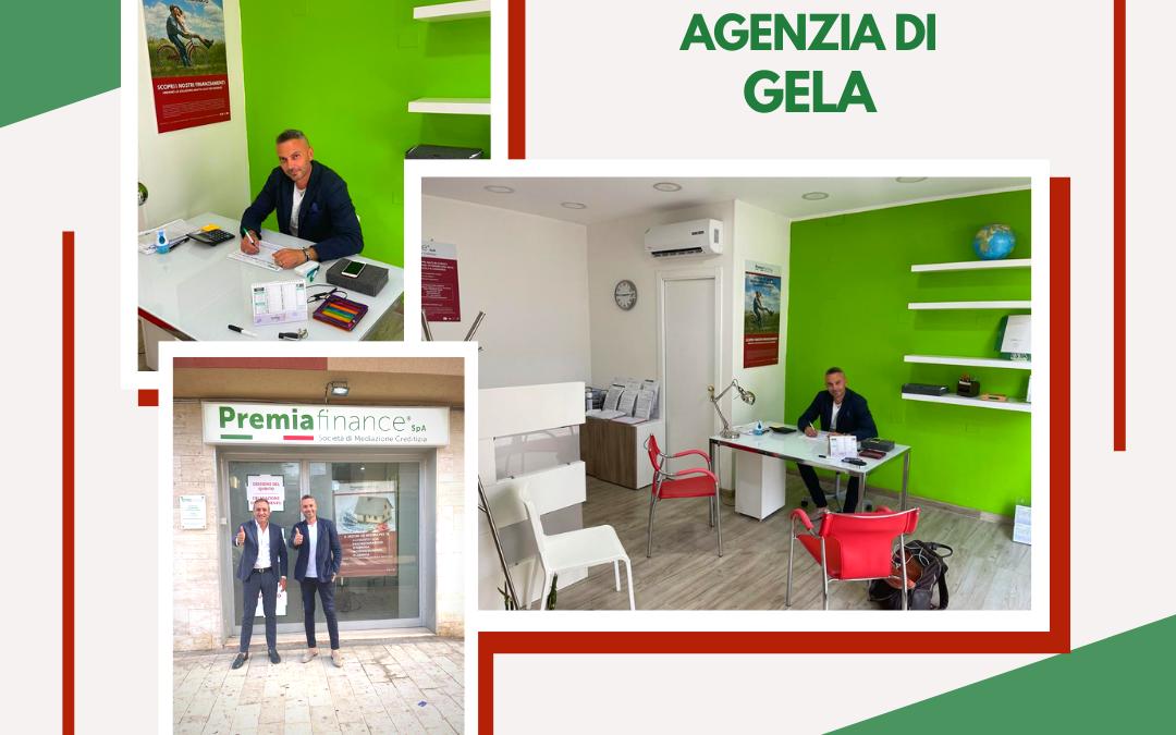 Premia Finance SpA, l'Amministratore Delegato Gaetano Nardo in visita alla nuova Agenzia di Gela